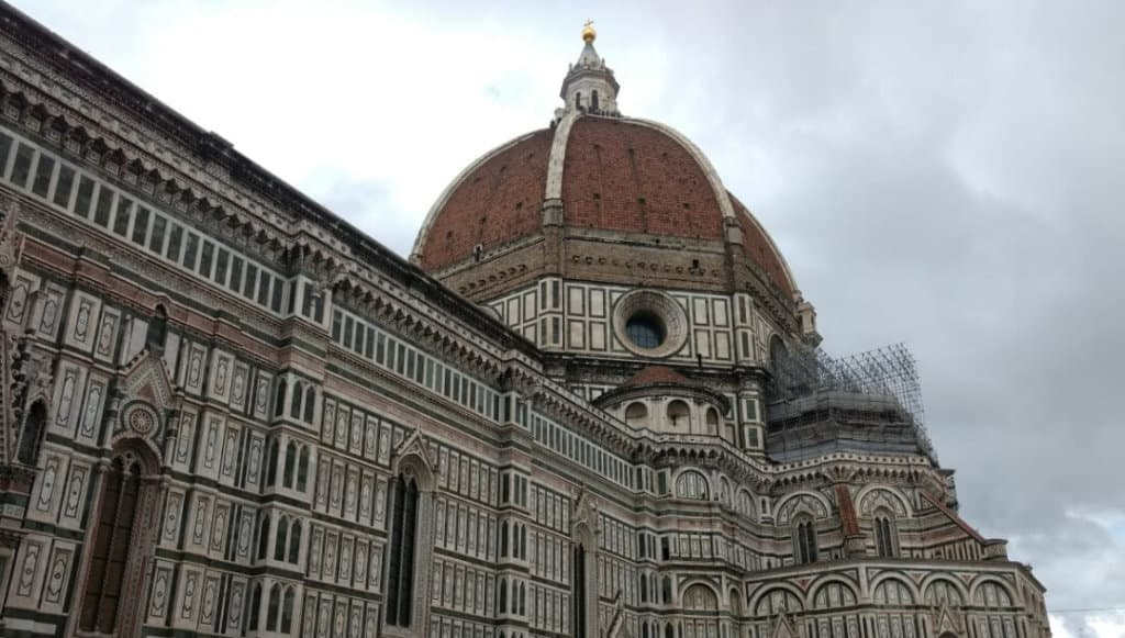 The Duomo cathedral and dome is an important stop as you see Florence in one day.