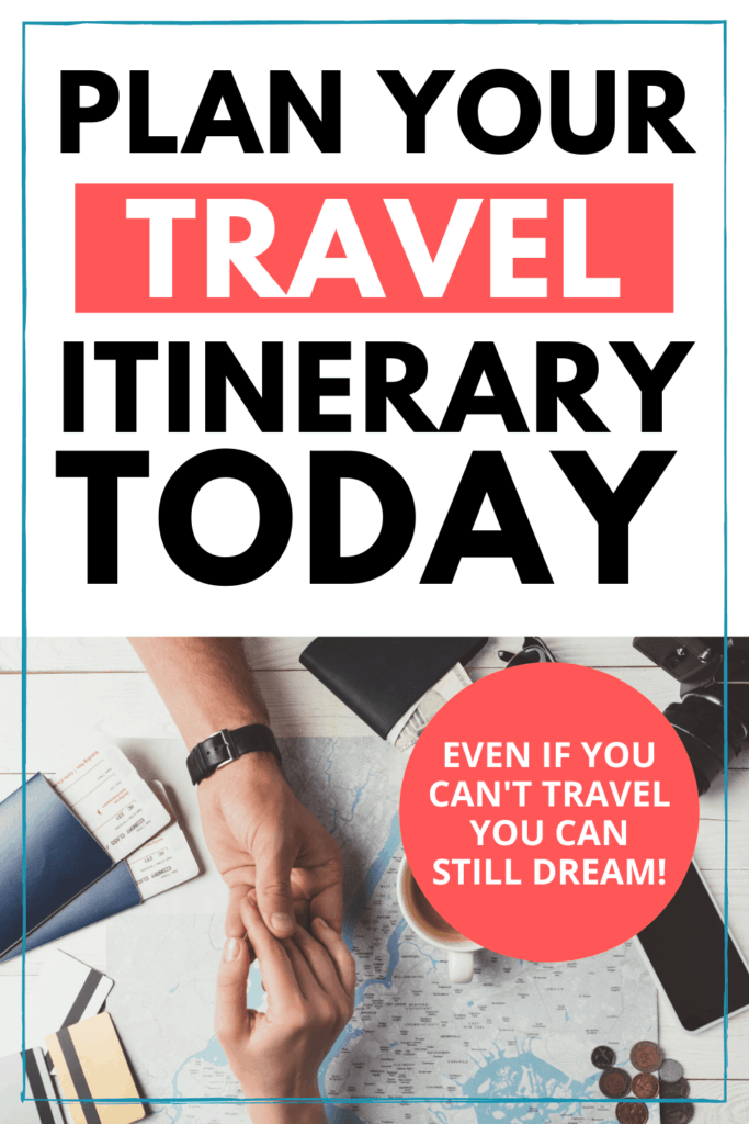 Planning a travel itinerary
