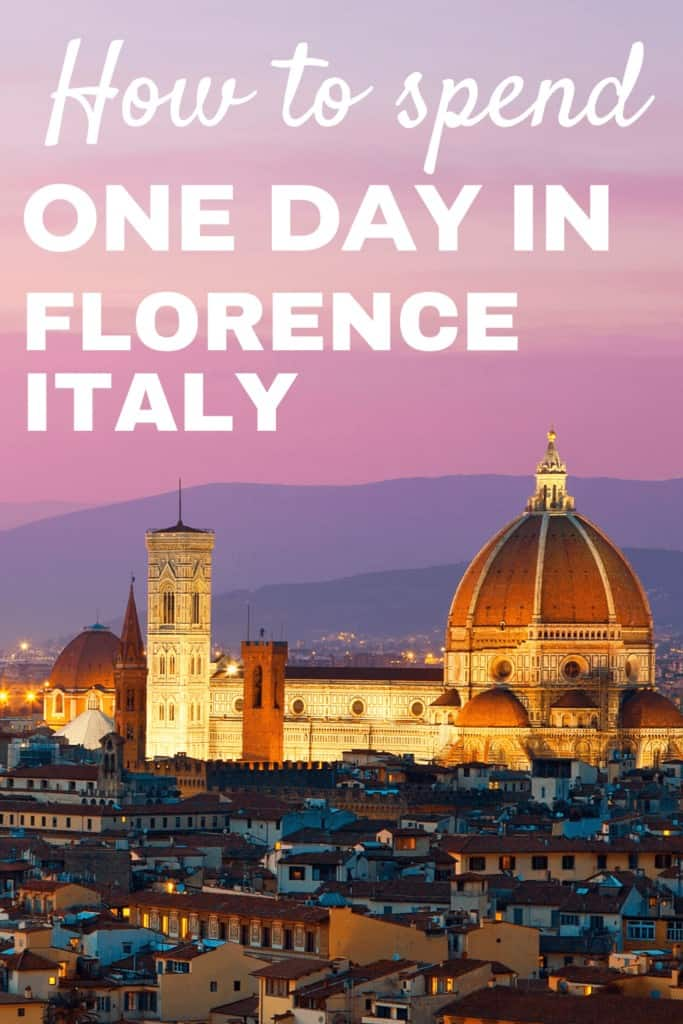 How to spend one day in Florence, Italy
